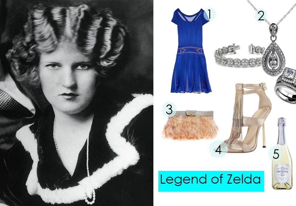 20s Flapper Gatsby Style Zelda Fitzgerald