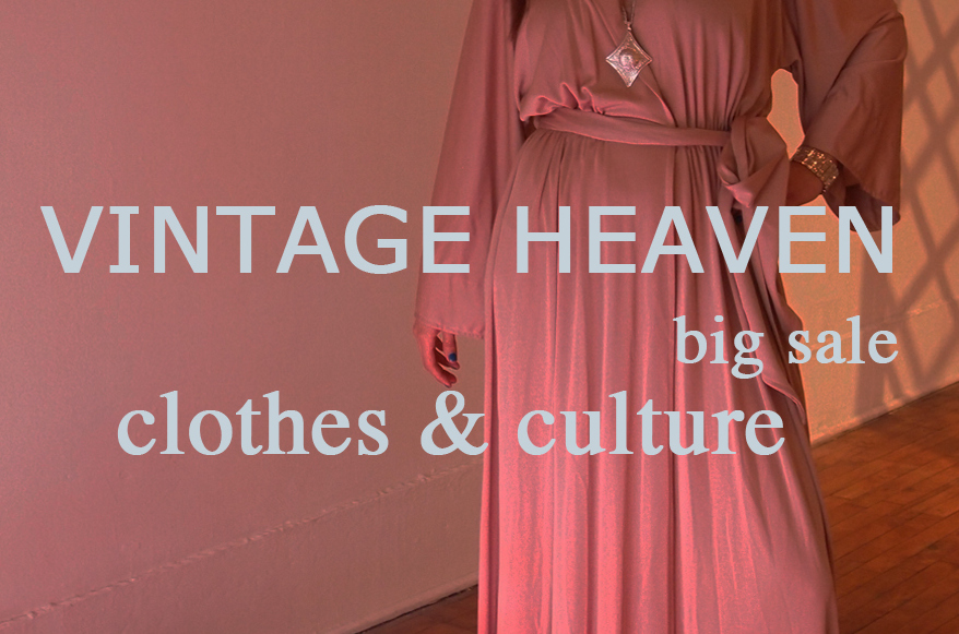 Need a Rad Summer Dress for the 4th? Stop By This Big Vintage Sale...