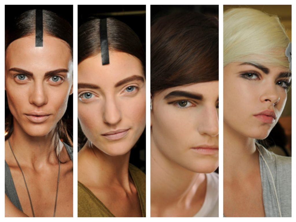 NYFW Beauty Trends Spring '13 Fashion Week Brows