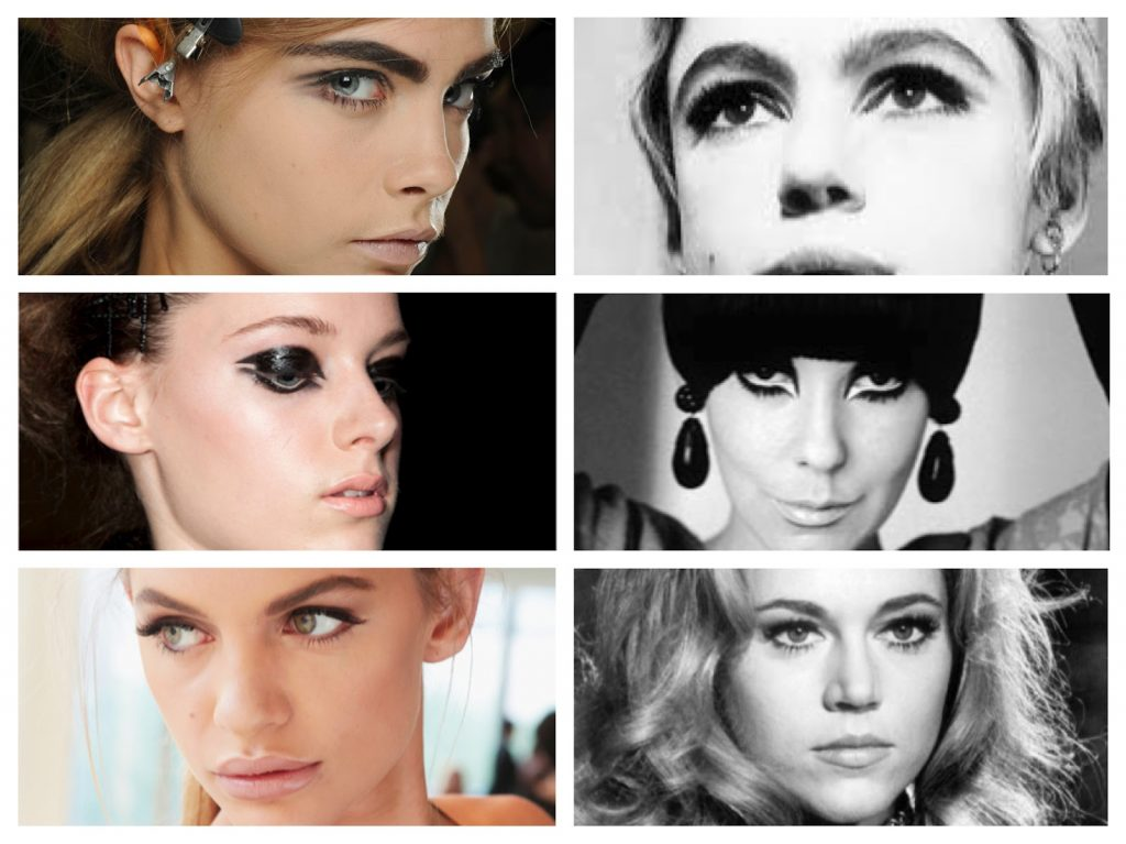 NYFW Beauty Trends Spring '13 Fashion Week Sixties