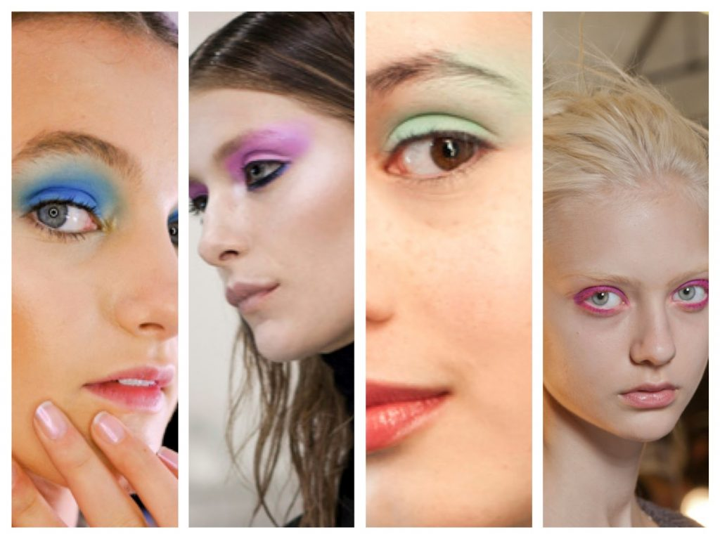 NYFW Beauty Trends Spring '13 Fashion Week Bright Eyes