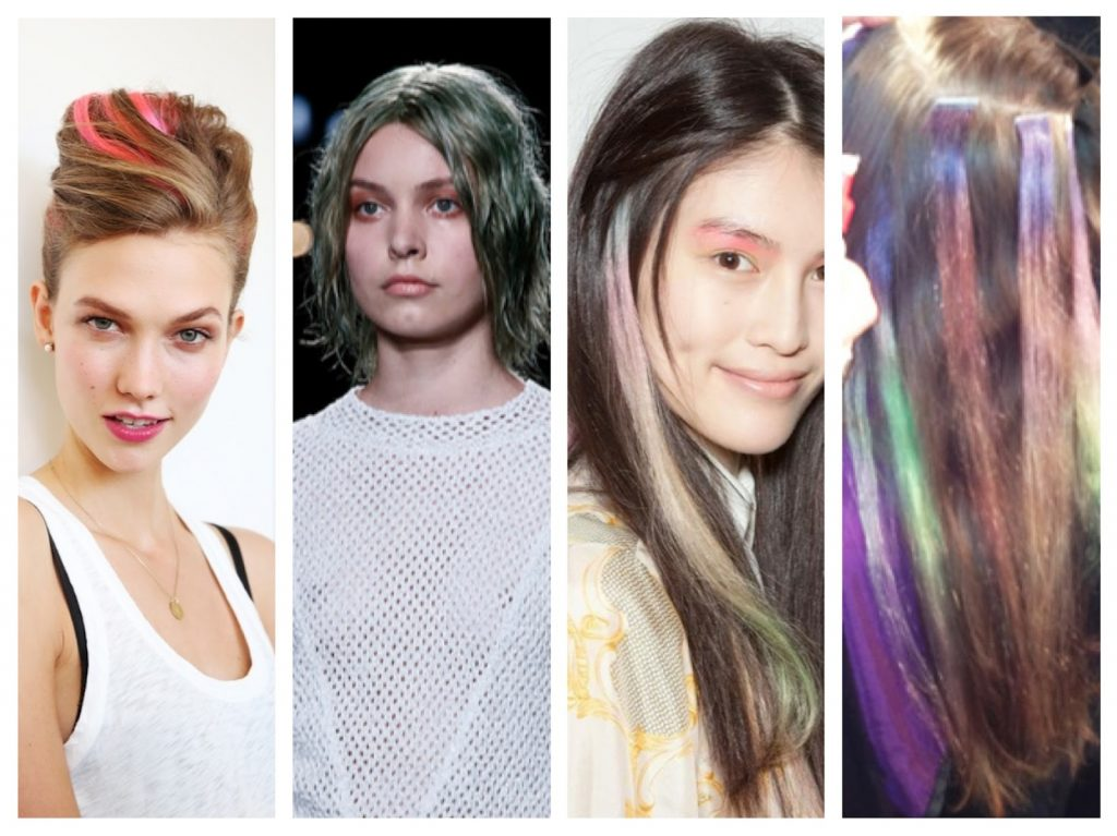 NYFW Beauty Trends Spring '13 Fashion Week colored hair